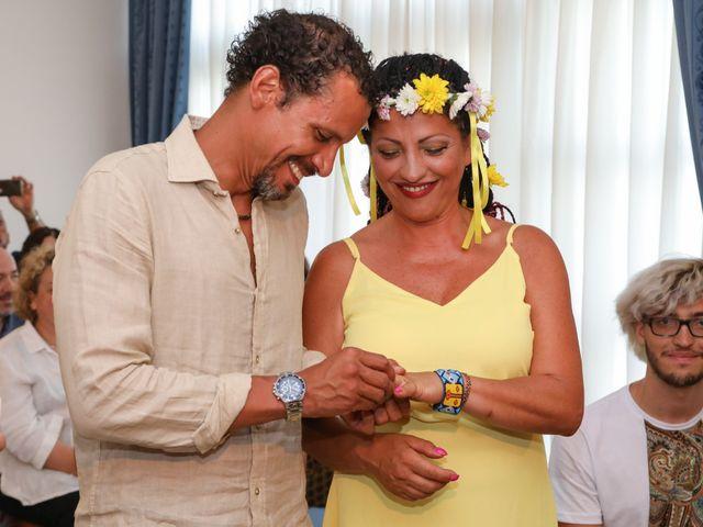 Il matrimonio di Felipe e Laura a Fiumicino, Roma 10