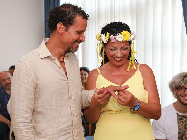 Il matrimonio di Felipe e Laura a Fiumicino, Roma 11