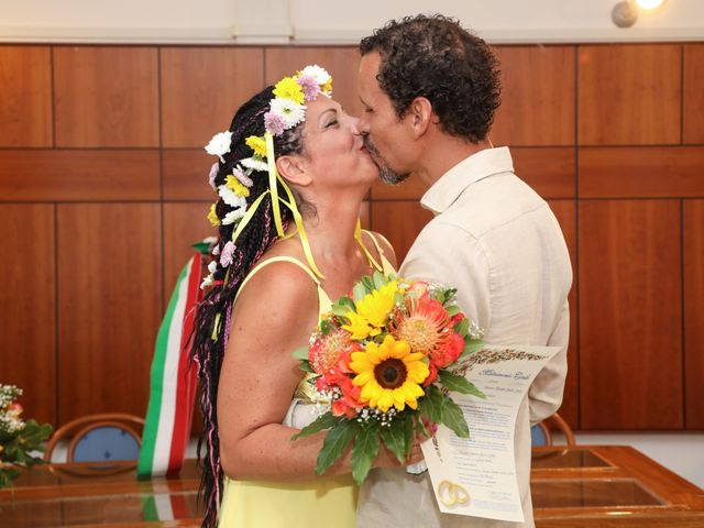 Il matrimonio di Felipe e Laura a Fiumicino, Roma 15