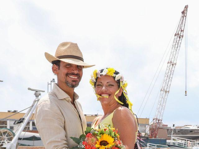 Il matrimonio di Felipe e Laura a Fiumicino, Roma 16