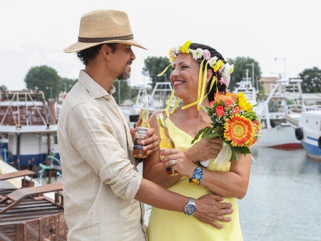 Il matrimonio di Felipe e Laura a Fiumicino, Roma 17