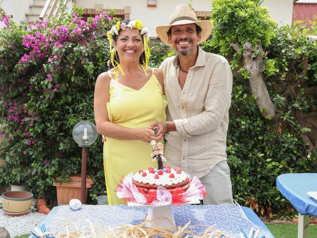Il matrimonio di Felipe e Laura a Fiumicino, Roma 20