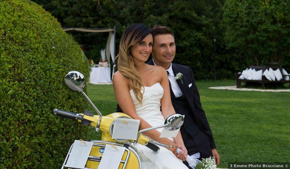 Il matrimonio di Luca e Daniela a Manziana, Roma