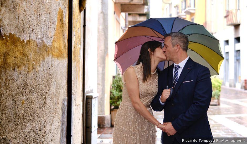 Il matrimonio di Alessandro e Estefania a Sesto Calende, Varese