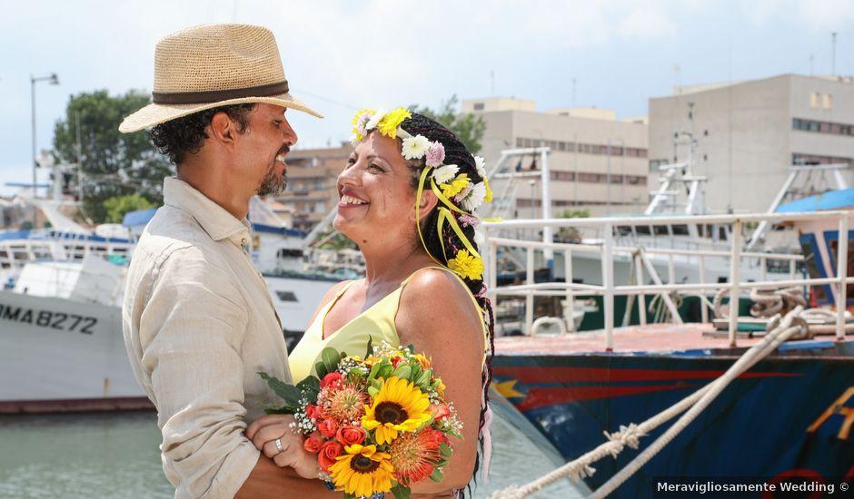 Il matrimonio di Felipe e Laura a Fiumicino, Roma