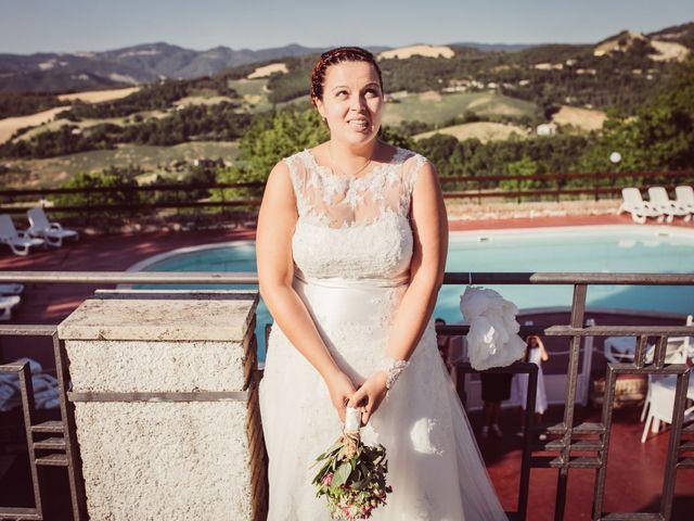 Il matrimonio di Alice e Marco a Urbania, Pesaro - Urbino 30
