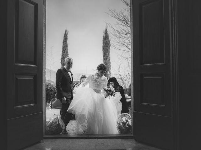 Il matrimonio di Maria e Francesco a Borgo San Lorenzo, Firenze 1