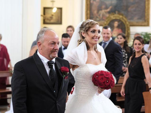 Il matrimonio di Denise e Roberto a Ariccia, Roma 17