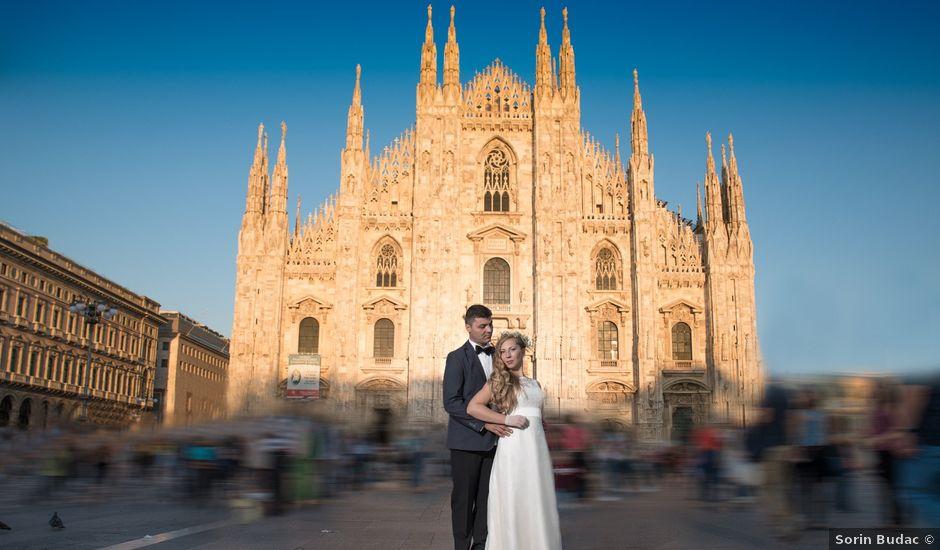 Il matrimonio di John e Adina Maria a Varese, Varese