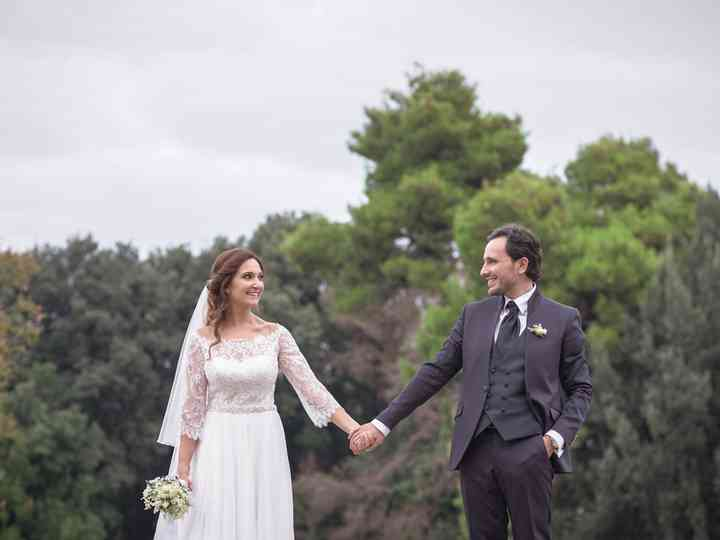 le nozze di Alberto e Melania