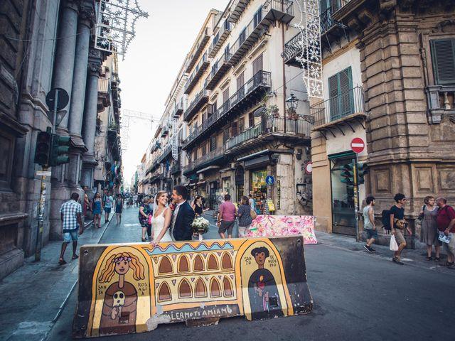 Il matrimonio di Enrico e Sara a Palermo, Palermo 26