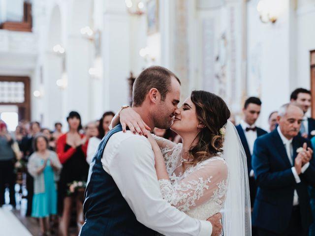Il matrimonio di Tino e Giulia a Miglianico, Chieti 23