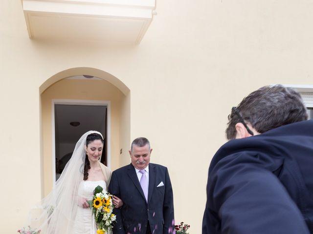 Il matrimonio di Andrea e Caterina a Gonnostramatza, Oristano 19