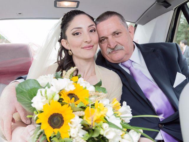 Il matrimonio di Andrea e Caterina a Gonnostramatza, Oristano 21