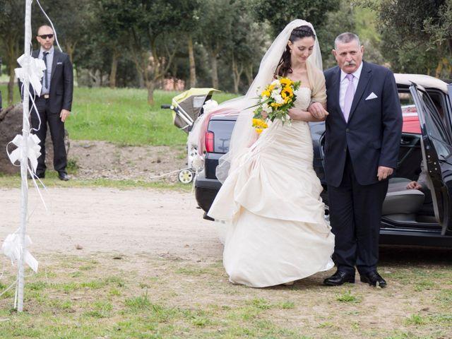 Il matrimonio di Andrea e Caterina a Gonnostramatza, Oristano 23