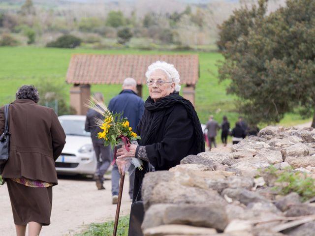 Il matrimonio di Andrea e Caterina a Gonnostramatza, Oristano 44