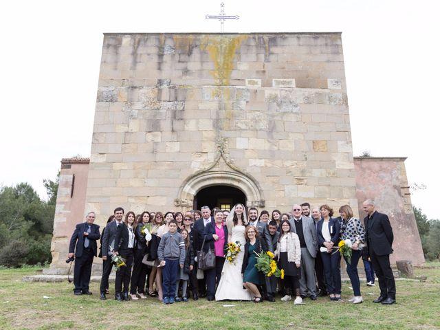 Il matrimonio di Andrea e Caterina a Gonnostramatza, Oristano 46