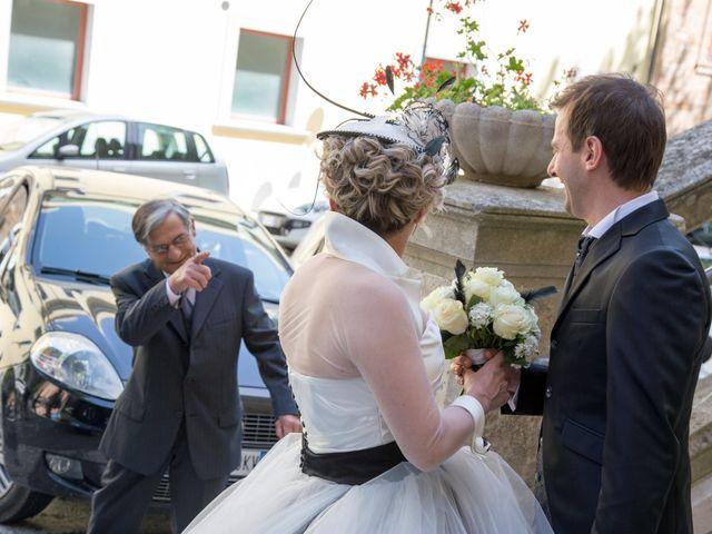 Il matrimonio di Luca e Stefania a Cupramontana, Ancona 8