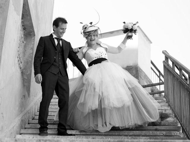 Il matrimonio di Luca e Stefania a Cupramontana, Ancona 11