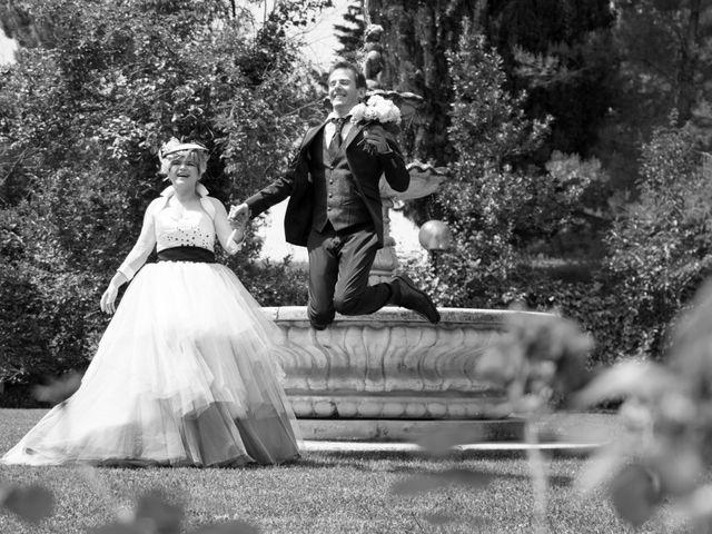 Il matrimonio di Luca e Stefania a Cupramontana, Ancona 15