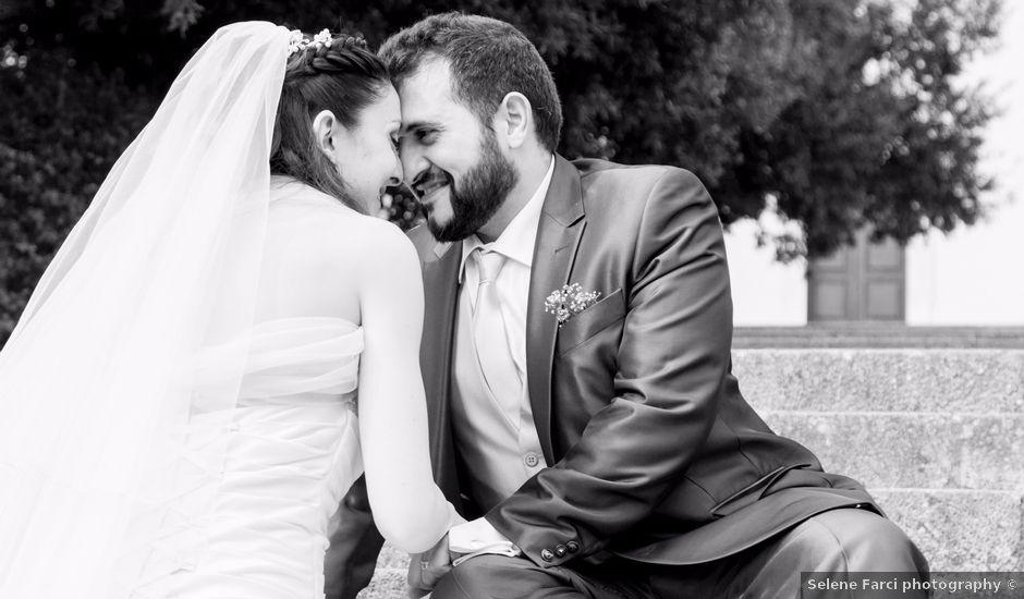 Il matrimonio di Andrea e Caterina a Gonnostramatza, Oristano
