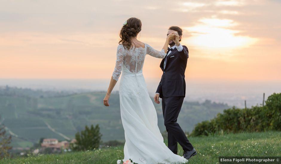 Il matrimonio di Luca e Silvia a Stradella, Pavia