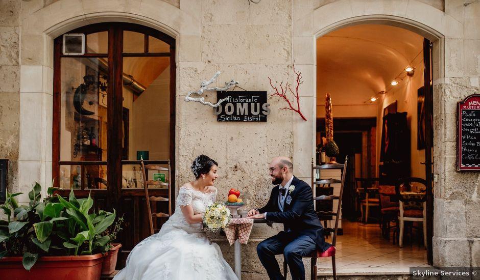Il matrimonio di Simone e Vera a Siracusa, Siracusa