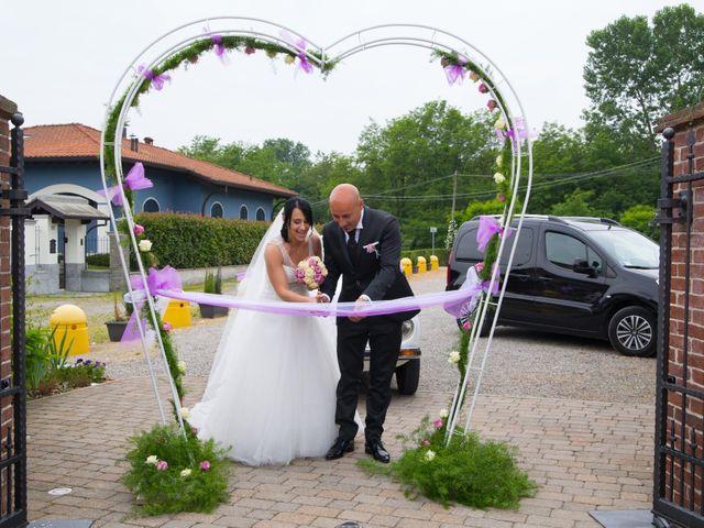 Il matrimonio di Nicola e Irene a Asigliano Vercellese, Vercelli 20