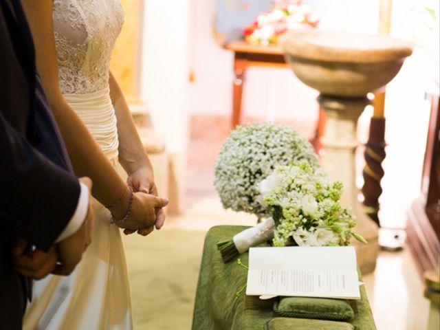 Il matrimonio di Serena e Leonardo a Sant'Angelo Romano, Roma 3