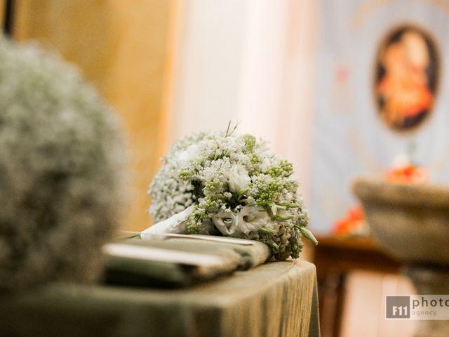 Il matrimonio di Serena e Leonardo a Sant'Angelo Romano, Roma 1