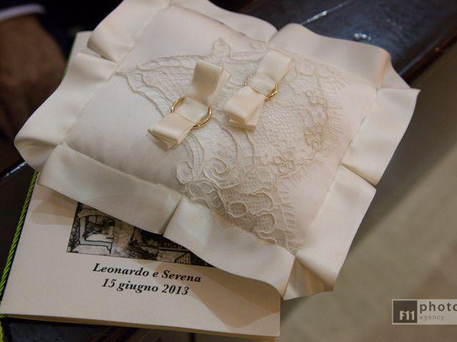 Il matrimonio di Serena e Leonardo a Sant'Angelo Romano, Roma 4