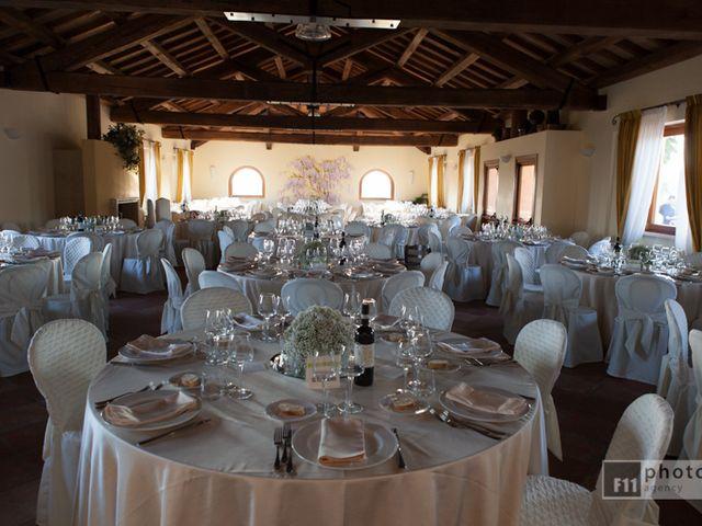 Il matrimonio di Serena e Leonardo a Sant'Angelo Romano, Roma 9