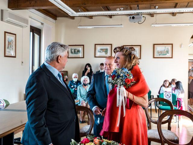 Il matrimonio di Bruno e Ombretta a Vermezzo, Milano 15