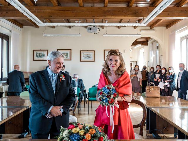 Il matrimonio di Bruno e Ombretta a Vermezzo, Milano 16