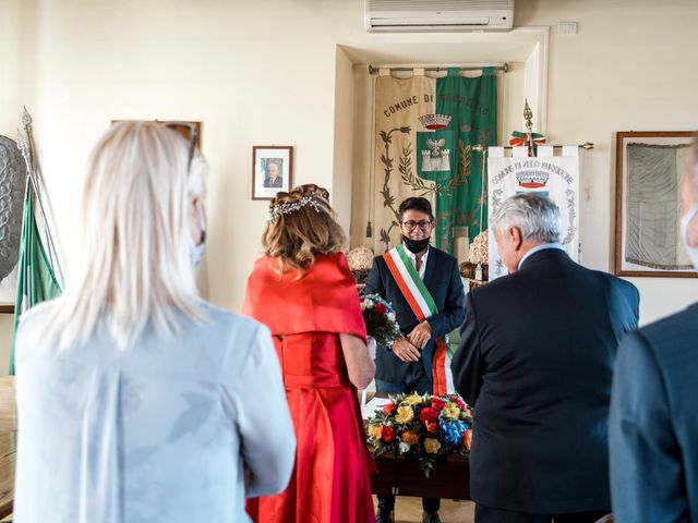 Il matrimonio di Bruno e Ombretta a Vermezzo, Milano 17