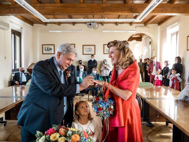 Il matrimonio di Bruno e Ombretta a Vermezzo, Milano 1