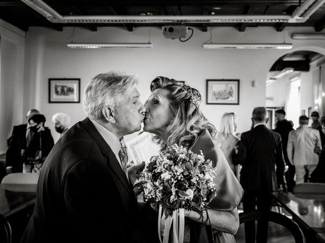 Il matrimonio di Bruno e Ombretta a Vermezzo, Milano 24