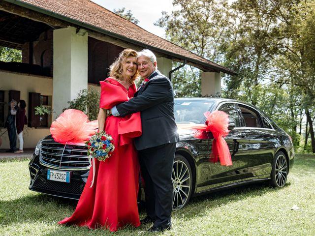 Il matrimonio di Bruno e Ombretta a Vermezzo, Milano 34