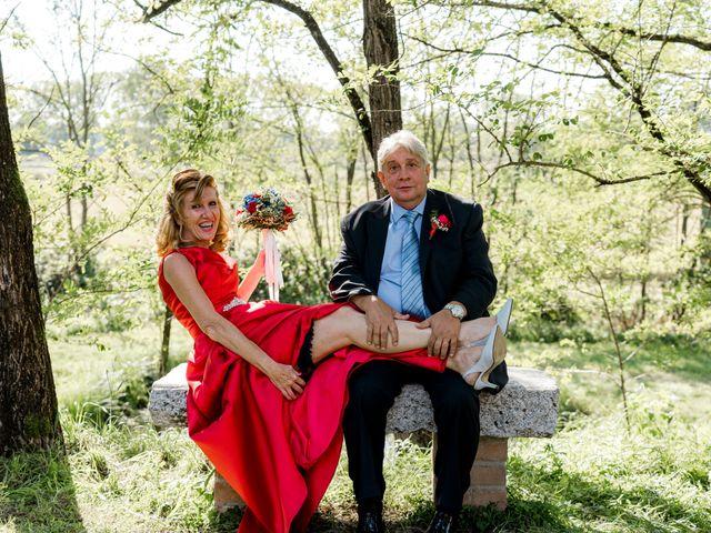 Il matrimonio di Bruno e Ombretta a Vermezzo, Milano 49