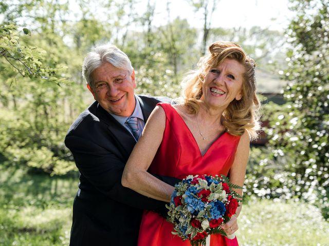 Il matrimonio di Bruno e Ombretta a Vermezzo, Milano 54