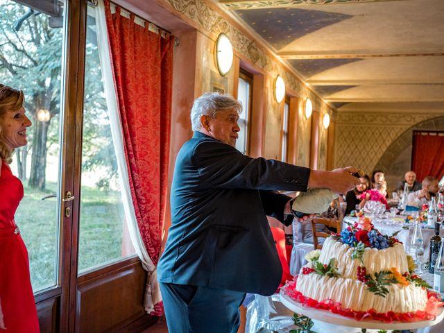 Il matrimonio di Bruno e Ombretta a Vermezzo, Milano 64