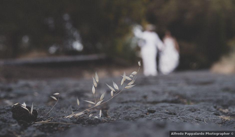 Il matrimonio di Valentina e Riccardo a Belpasso, Catania