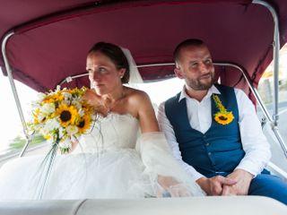 Le nozze di Victoria e Chris