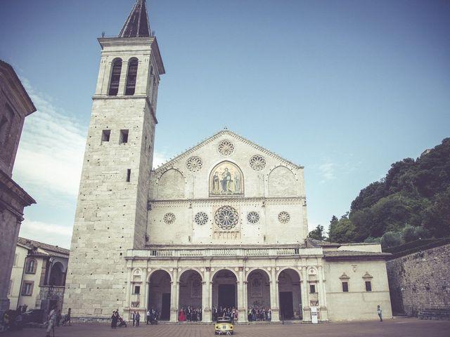 Il matrimonio di Marco e Sara a Spoleto, Perugia 17