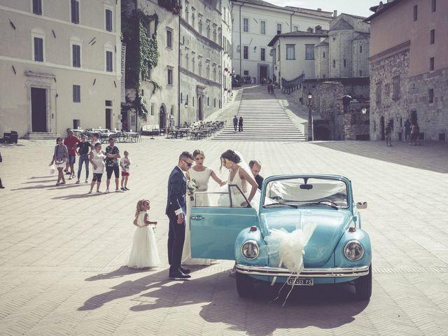 Il matrimonio di Marco e Sara a Spoleto, Perugia 21