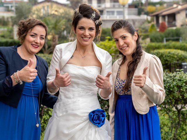 Il matrimonio di Massimo e Elena a Padenghe sul Garda, Brescia 30