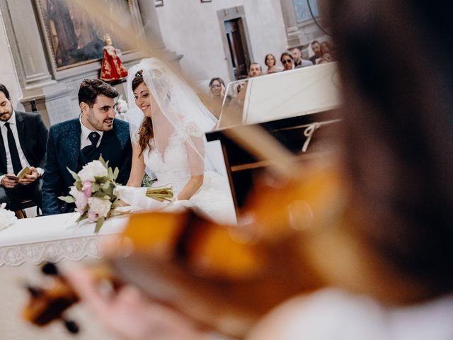 Il matrimonio di Vincenzo e Eleonora a Colle di Val d'Elsa, Siena 18