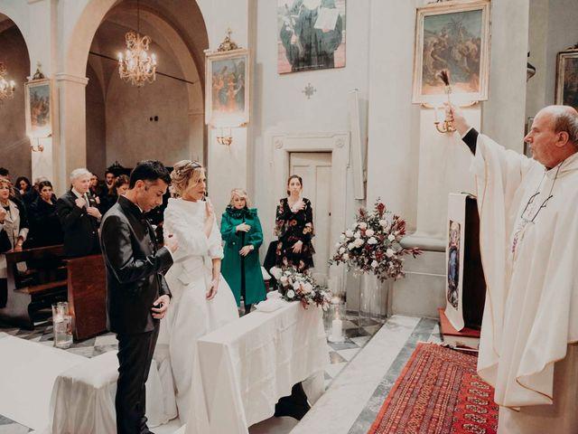 Il matrimonio di Elisabetta e Luca a Montespertoli, Firenze 24