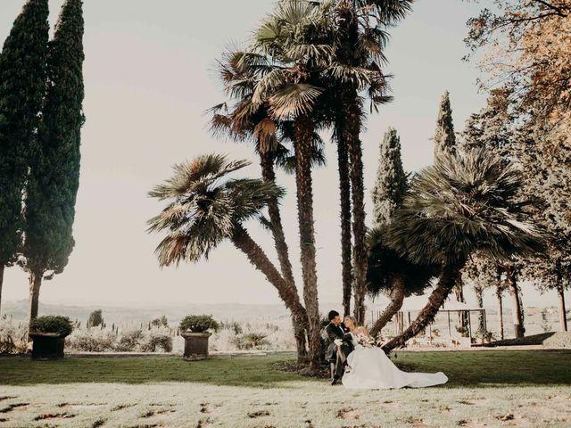 Il matrimonio di Elisabetta e Luca a Montespertoli, Firenze 43