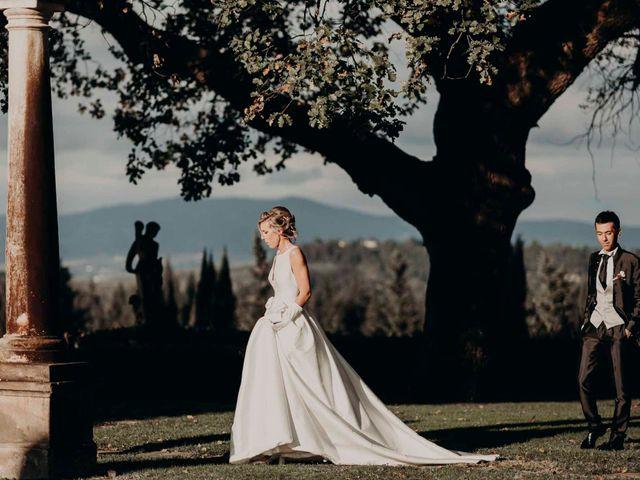 Il matrimonio di Elisabetta e Luca a Montespertoli, Firenze 46